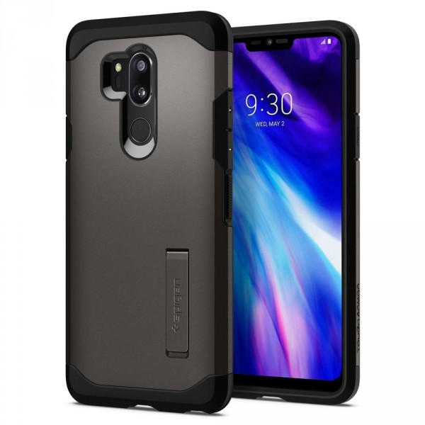 Tough Armor kryt LG G7 ThinQ Gunmetal (1)