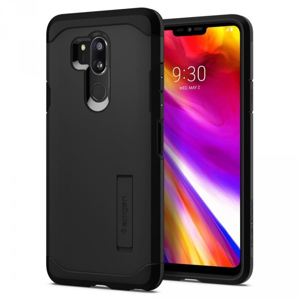 Tough Armor kryt LG G7 ThinQ Black (1)