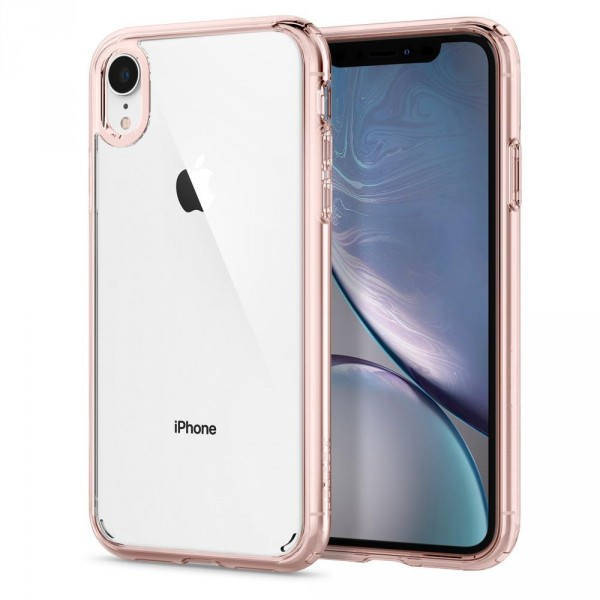 Ultra Hybrid kryt iPhone XR Rose Crystal (1)