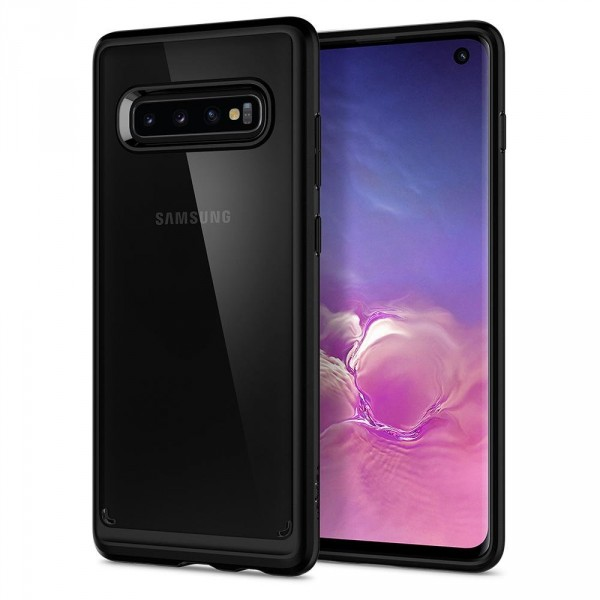 Ultra Hybrid kryt Galaxy S10 Matte Black (1)