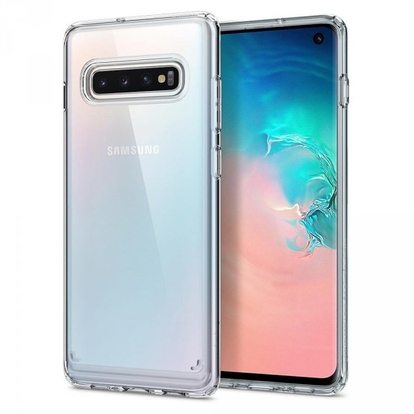 Ultra Hybrid kryt Galaxy S10 Crystal Clear (1)