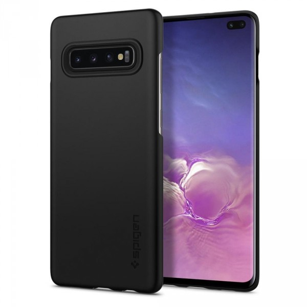 Thin Fit kryt Galaxy S10+ Black (1)