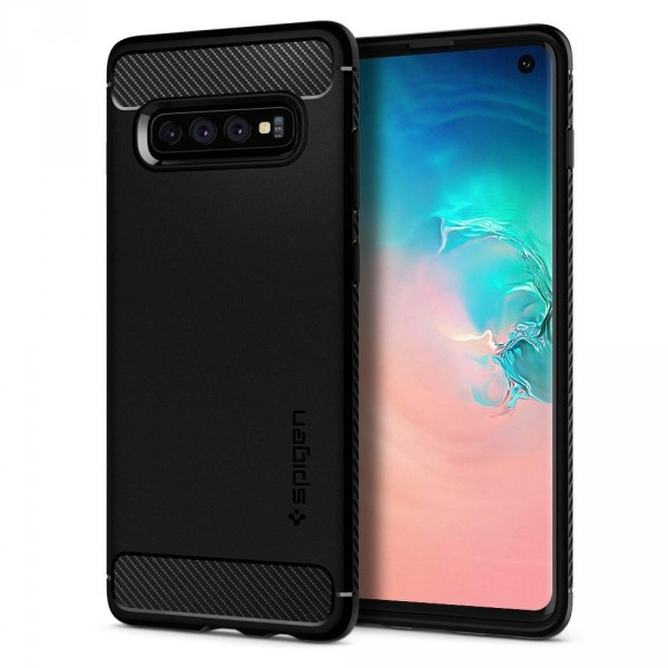 Rugged Armor kryt Galaxy S10 Black (1)