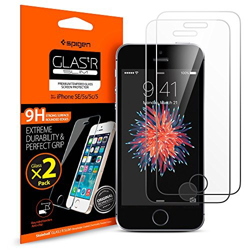 Screen Protector GLAS.tR SLIM iPhone SE / 5S / 5C / 5 (7)