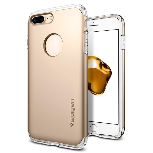 Hybrid Armor kryt iPhone 7 Champagne Gold (1)