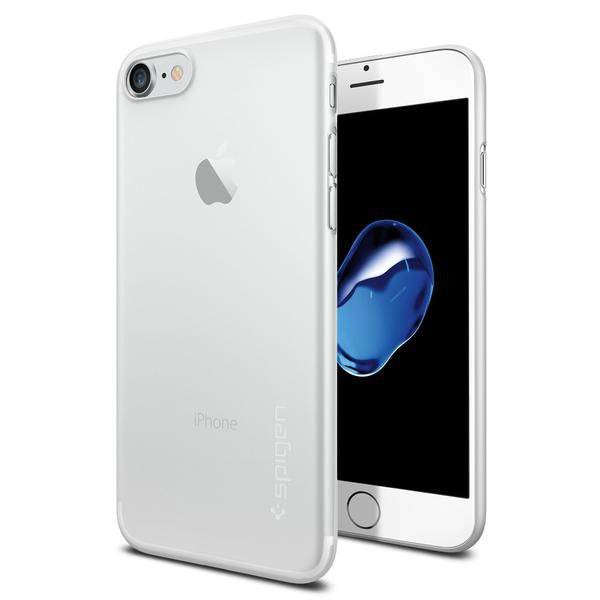 AirSkin kryt iPhone 7 Soft Clear (1)