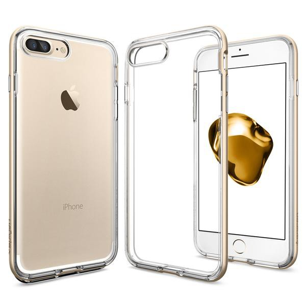 Neo Hybrid Crystal kryt iPhone 7 Plus Champagne Gold (3)