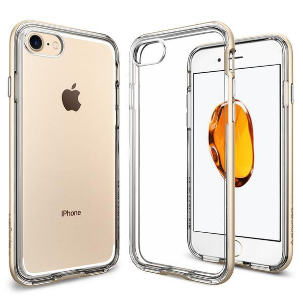 Neo Hybrid Crystal kryt iPhone 7 Champagne Gold (1)