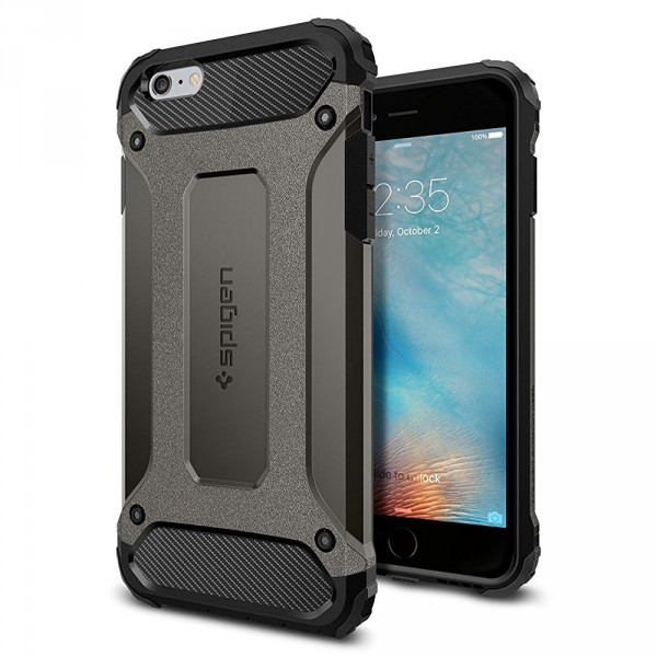 Tough Armor Tech kryt iPhone 6 Plus / 6S Plus Gunmetal (1)