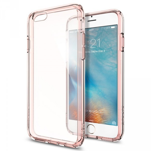 Ultra Hybrid kryt iPhone 6/6S Rose Crystal (1)