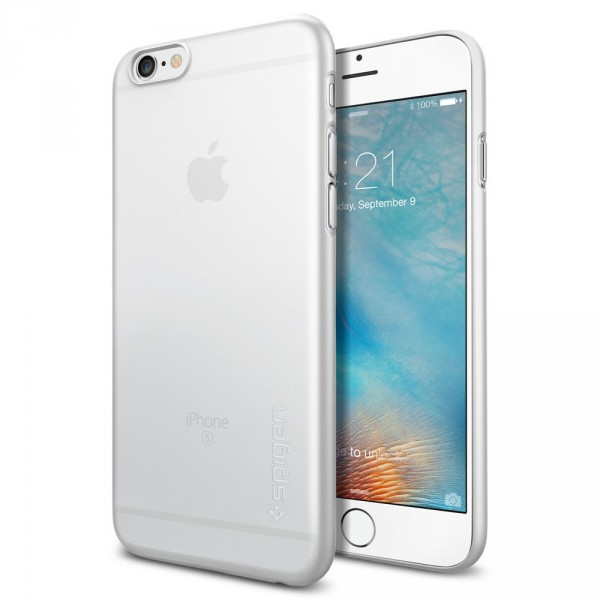 AirSkin kryt iPhone 6S Soft Clear (1)