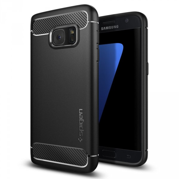 Rugged Armor kryt Galaxy S7 Black (1)