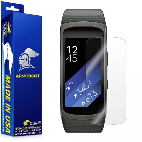 MilitaryShield - Samsung Gear Fit2 (2 Pack) (1)
