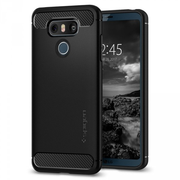 Rugged Armor kryt LG G6 Black (1)