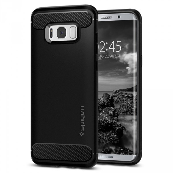 Rugged Armor kryt Galaxy S8+ Black (1)