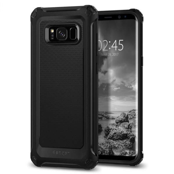 Rugged Armor Extra kryt Galaxy S8+ Black (1)