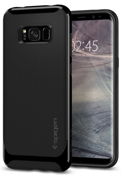 Neo Hybrid kryt Galaxy S8 Shiny Black (1)