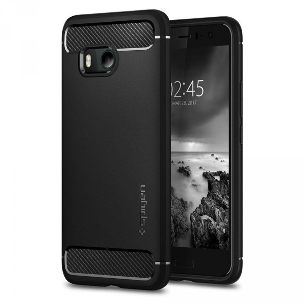 Rugged Armor HTC U11 Black (1)