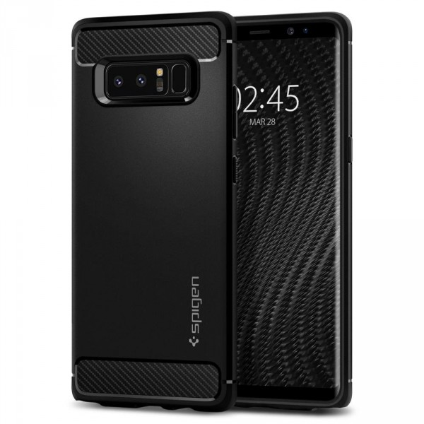 Rugged Armor kryt Galaxy Note 8 Black (1)