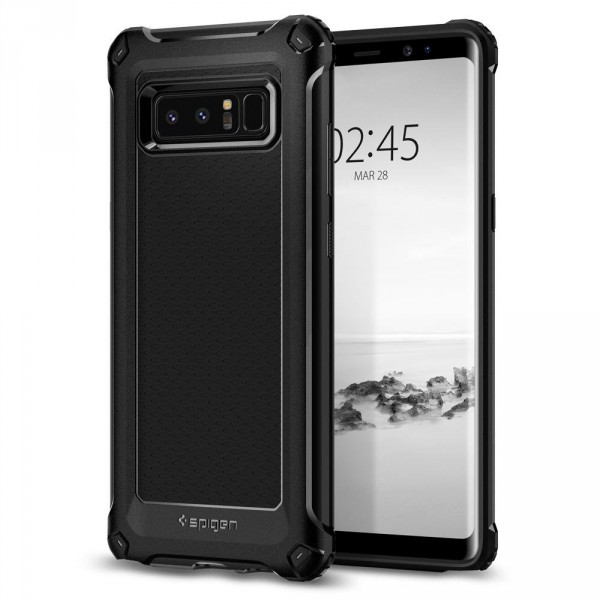 Rugged Armor Extra kryt Galaxy Note 8 Black (1)