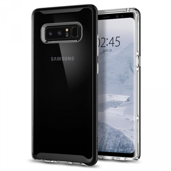 Neo Hybrid Crystal kryt Galaxy Note 8 Black (10)