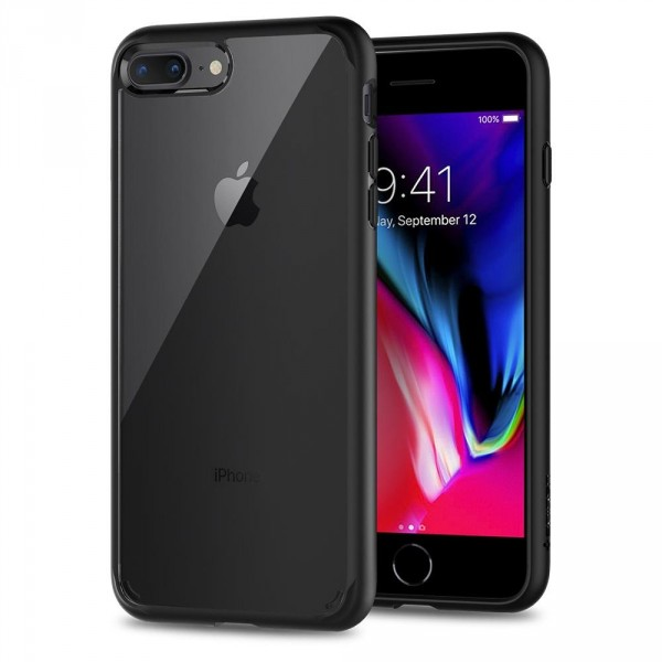 Ultra Hybrid 2 kryt iPhone 8 Plus Black (1)