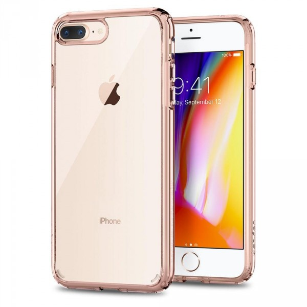 Ultra Hybrid 2 kryt iPhone 8 Plus Rose Crystal (1)