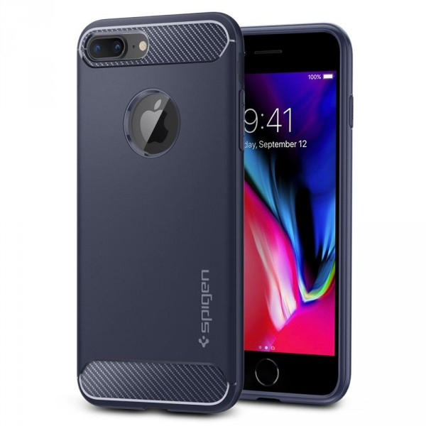 Rugged Armor kryt iPhone 7 Plus / 8 Plus Midnight Blue (1)