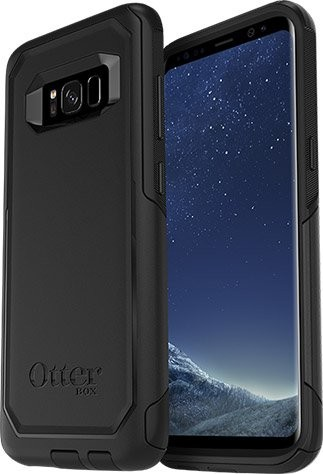 Commuter kryt Galaxy S8 Black (1)