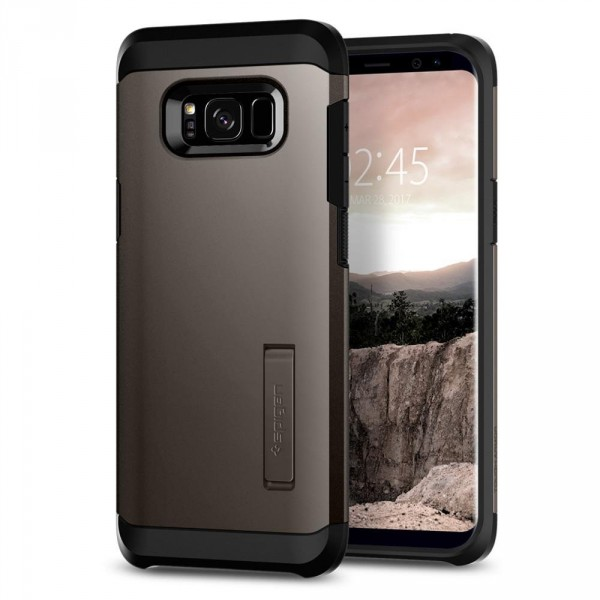 Tough Armor kryt Galaxy S8+ Gunmetal (1)