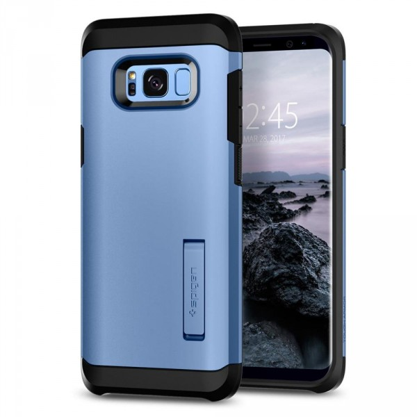 Tough Armor kryt Galaxy S8+ Blue Coral (1)