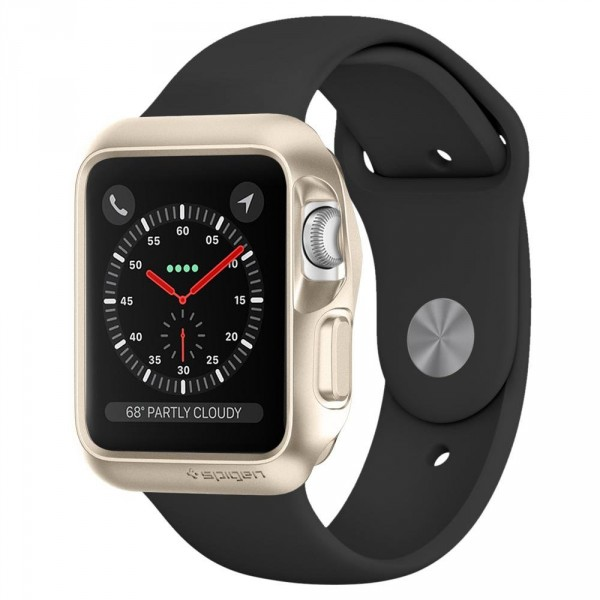 Slim Armor pouzdro Apple Watch 3 / 2 / 1 [38 mm] Gold (1)