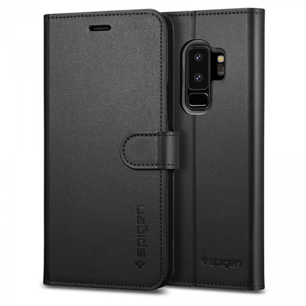 Wallet S kryt Galaxy S9+ Black (1)