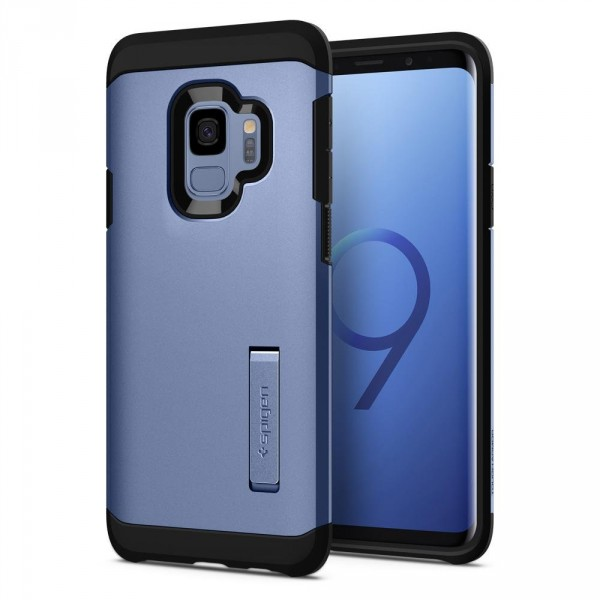 Tough Armor kryt Galaxy S9 Coral Blue (1)