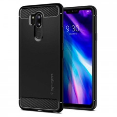 Spigen Rugged Armor kryt LG G7 ThinQ Black