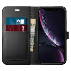 Wallet S kryt iPhone XR Black (2)