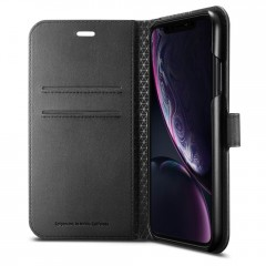 Wallet S kryt iPhone XR Black (3)