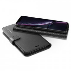 Wallet S kryt iPhone XR Black (7)