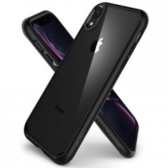Ultra Hybrid kryt iPhone XR Matte Black (5)