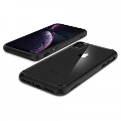 Ultra Hybrid kryt iPhone XR Matte Black (7)