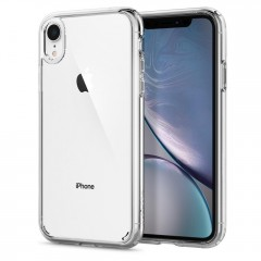 Spigen Ultra Hybrid kryt iPhone XR Crystal Clear
