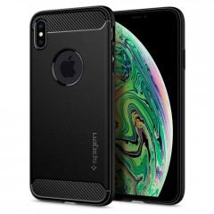 Spigen Rugged Armor kryt iPhone XS Max Black