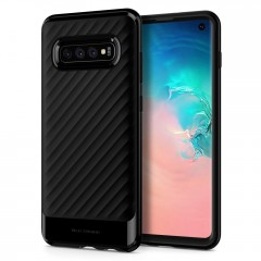 Spigen Neo Hybrid kryt Galaxy S10 Midnight Black