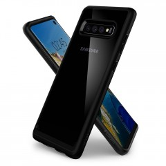 Ultra Hybrid kryt Galaxy S10 Matte Black (2)