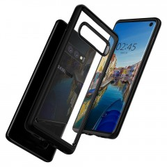 Ultra Hybrid kryt Galaxy S10 Matte Black (6)