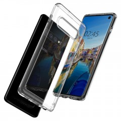 Ultra Hybrid kryt Galaxy S10 Crystal Clear (6)