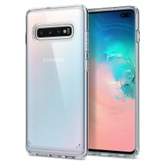 Spigen Ultra Hybrid kryt Galaxy S10+ Crystal Clear