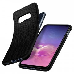 Liquid Air kryt Galaxy S10e Matte Black (5)