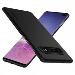 Thin Fit kryt Galaxy S10+ Black (4)