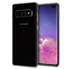 Spigen Liquid Crystal kryt Galaxy S10+ Crystal Clear